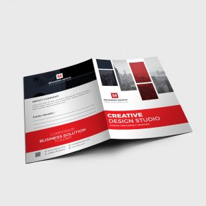 EPS Stylish Folder Design Template