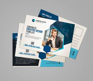 Corporate Postcard Design
