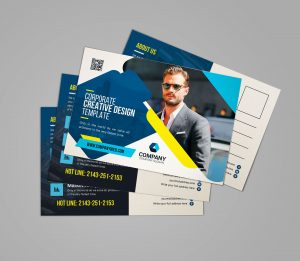 Creative Corporate Postcard Design